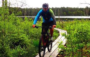 Lasy Mirachowskie i okolice na rowerze