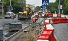 Końcówka utrudnień na al. Zwycięstwa w Gdyni