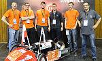 Pojazd gdańskich studentów napędzany sprężonym powietrzem wygrywa na Węgrzech