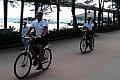 Gdyńscy policjanci wsiedli na rowery