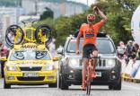 Sensacja w kolarskich mistrzostwach Polski