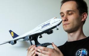 Modele samolotów pasażerskich Piotra