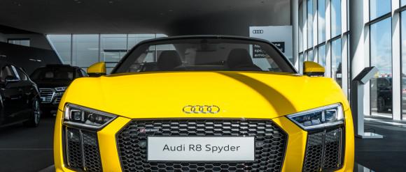 540-konne Audi R8 Spyder w Gdańsku