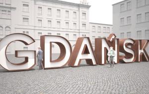 """Napis """"Gdańsk"""" dopiero pod koniec wakacji"""