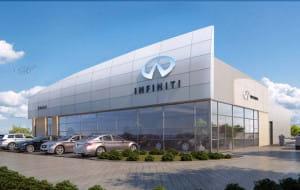 Tak będzie wyglądał salon Infiniti w Gdańsku