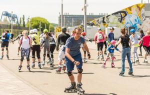 Aktywny weekend: Triathlon, rolki, biegi i siatkówka