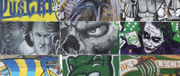 Najciekawsze murale Lechii i Arki