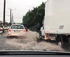 Silne opady deszczu w Trójmieście