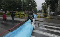 Czwartkowe zagrożenie powodziowe w...