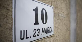 Sopot: chcą zmienić nazwę ulicy 23 Marca na 23 Marca