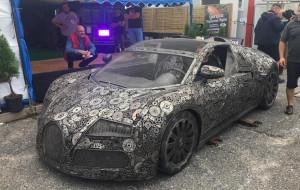 Zbudował Bugatti Veyrona... ze złomu