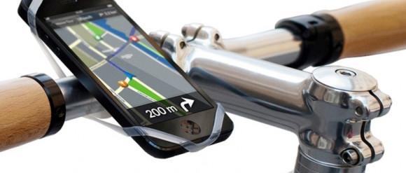 Ze smartfonem na rowerze