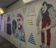 Szekspir wróci na ściany w przejściu podziemnym