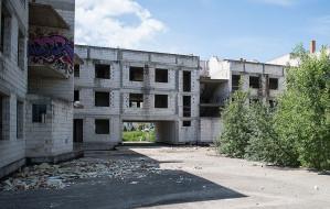 Śmierć na terenie pustostanu w Gdańsku