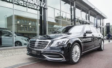 Odświeżony Mercedes-Maybach już w Trójmieście