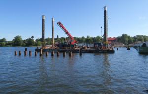 Mostem zwodzonym w Sobieszewie pojedziemy w przyszłym roku