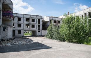 Kolejny wypadek na terenie pustostanu w Gdańsku