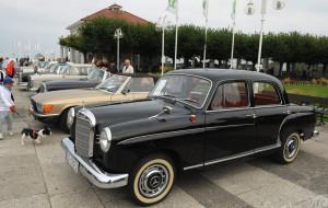 Wystawa zabytkowych aut w Sopocie