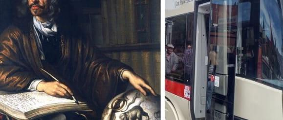 Patroni tramwajów: Jan Heweliusz