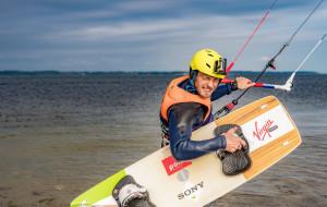 Rekord wysokości na kitesurfingu