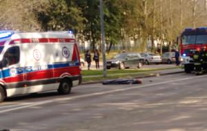 Śmiertelny wypadek motocyklisty na Obłużu
