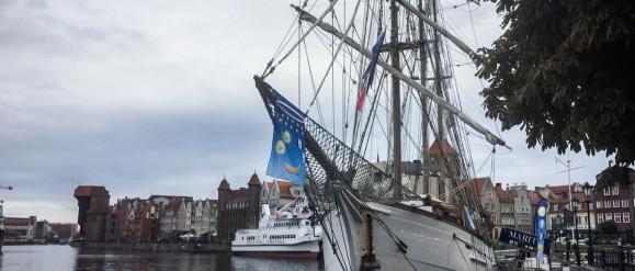 Prawie stuletni żaglowiec przypłynął do Gdańska