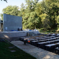 Amfiteatr w parku Oruńskim czeka tylko na dach