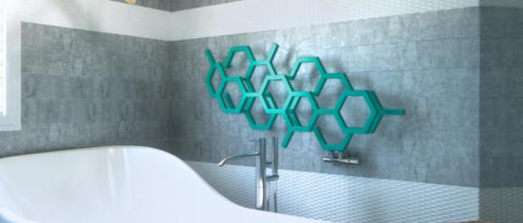 Heksagony, czyli modne plastry miodu we wnętrzach