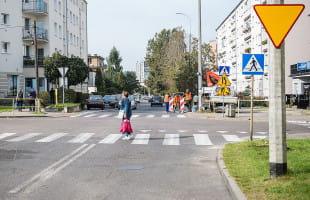 Zmiany na niebezpiecznym skrzyżowaniu na Grabówku
