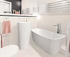 Gustowna i funkcjonalna łazienka dla kobiety