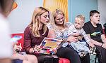 Bajkoterapia na dziecięcej onkologii UCK. Przygody Pluszowej Misi czytała Kasia Tusk
