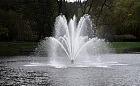 Testy nowej fontanny w Oliwie