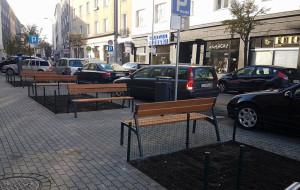 Gdynia: ławki ograniczyły samowolę parkingową na Abrahama