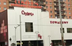 """Dom Towarowy """"Chylonia"""" zmienia kolor elewacji"""