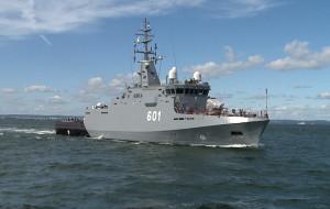 ORP Kormoran oficjalnie opuścił Remontowa Shipbuilding