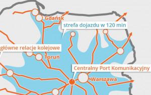 Nowa linia kolejowa połączy Trójmiasto i Centralny Port Komunikacyjny pod Warszawą?