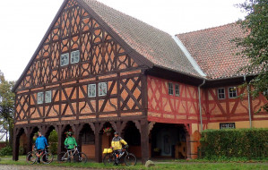 Domy podcieniowe na Żuławach Gdańskich