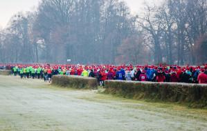 Bieg Mikołajów na 10 kilometrów po Gdyni