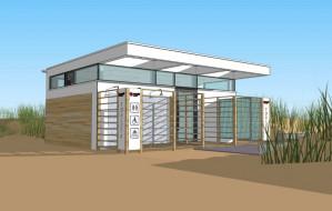 Bliżej budowy toalet na plażach w Gdańsku