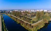 Front Park. Osiedle w śródmieściu Gdańska,...