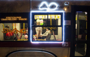 Mikołajkowy tramwaj w środę na torach