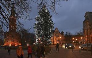 Iluminacje świąteczne w Sopocie