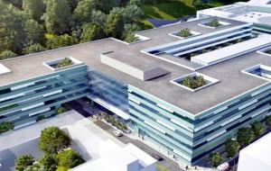 Cztery firmy chcą budować ostatnią część największego szpitala