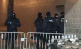 Akcja policji na stadionie w Letnicy. Oprawa w zamkniętym pomieszczeniu
