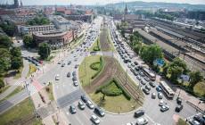 Będzie drugi buspas przed Dworcem Głównym w Gdańsku