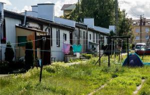 Dom wielorodzinny zamiast zniszczonych budynków na Oksywiu
