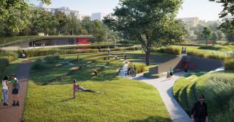 Tak będzie wyglądał Park Centralny w Gdyni