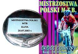 Mistrzostwa Polski MTB, Książ (20.07.2003)