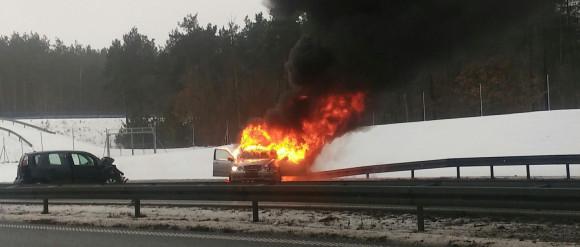 Wypadek na autostradzie. Nie żyje 5-latek