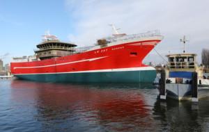 Zwodowano trawler w Naucie
